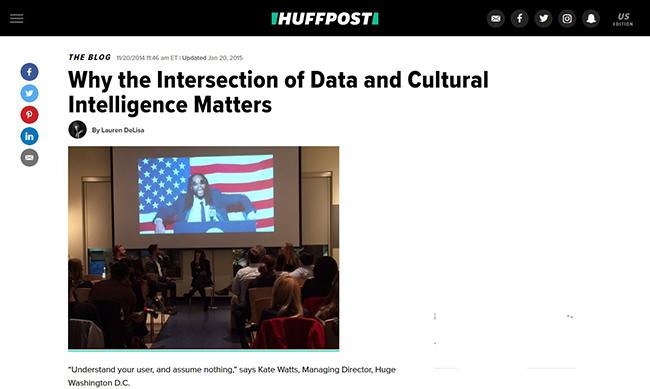 Why the Intersection of Data and Cultural Intelligence Matters