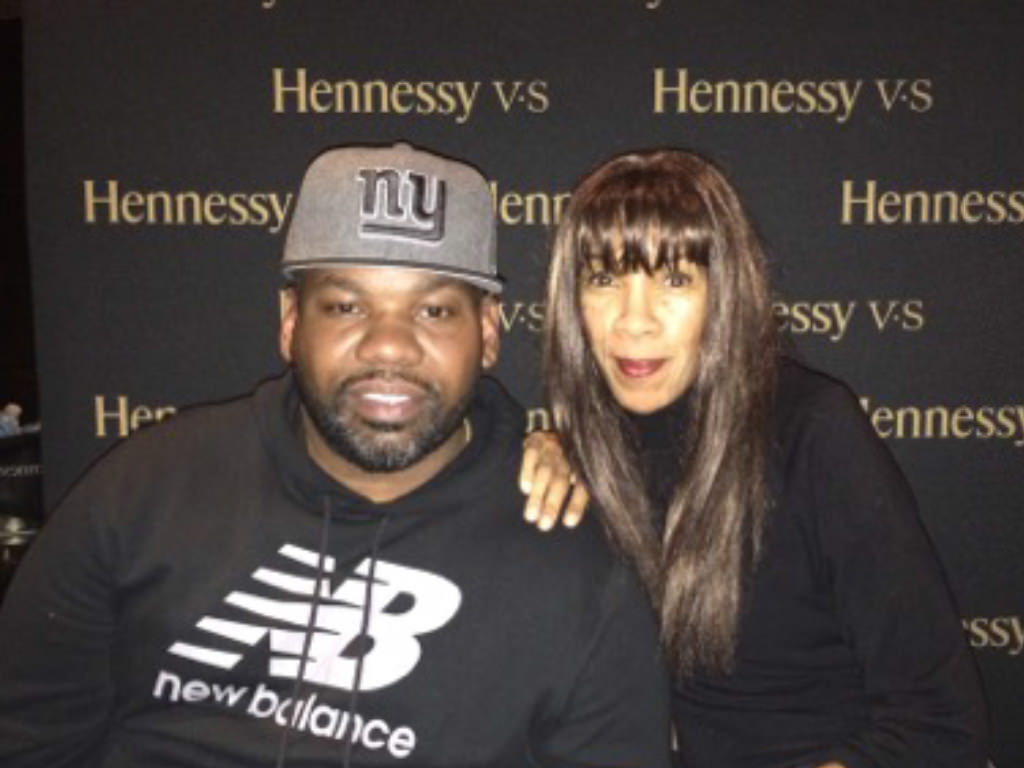 Lauren deLisa Coleman with Raekwon