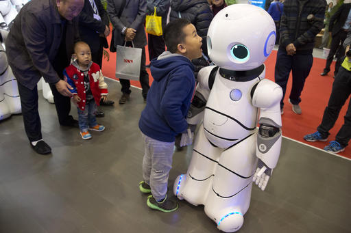 Robots And The Fight To Stay Healthy In China