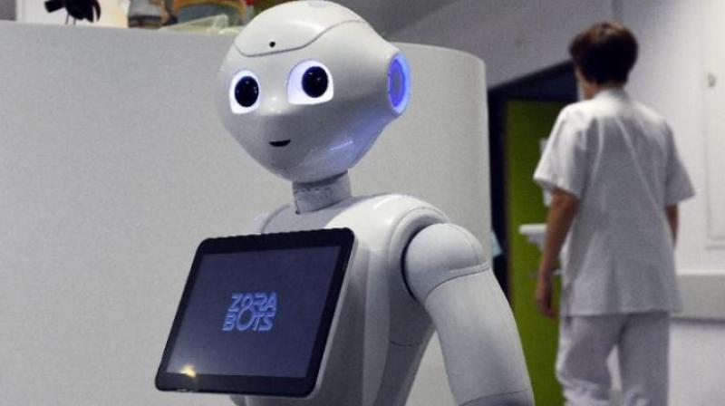 Robots And Hospitals Converge In China